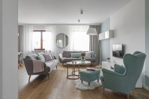 Elegancki salon: tak urządzisz go w stylu modern classic. Świetne zdjęcia!