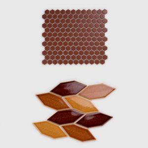 Mozaiki dostępne są w ponad 40 różnych nowych kolorach, wzorach i fakturach. ot. Raw Decor