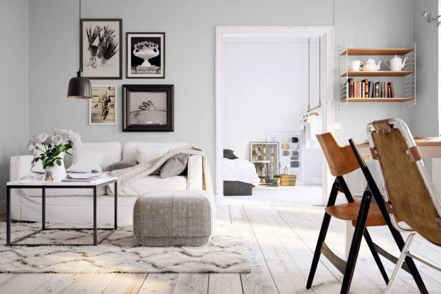 Jakie kolory ścian wybrać do salonu? Dzisiaj polecamy ponadczasowe jasne odcienie - złamaną biel, gołębią szarość, beże, delikatne pastele czy barwy ziemi - zobaczcie, jak pięknie może się prezentować jasny salon!<br /><br />