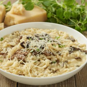 Grzybowe risotto. Fot. Knorr
