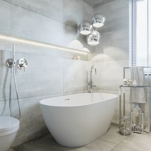 Łazienka jest elegancka i ponadczasowa. Projekt i zdjęcia: Naboo Studio