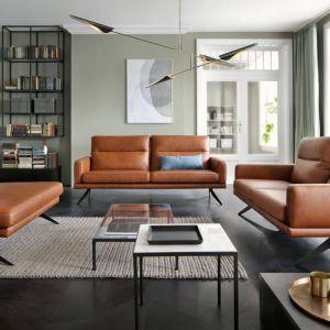 Sofa do salonu z kolekcji Genova dostępna w ofercie firmy Gala Collezione. Cena: ok. 5.800 zł. Fot. Gala Collezione
