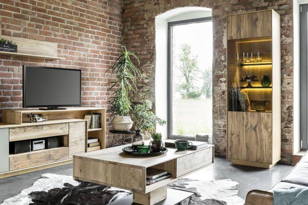 Meble z rysunkiem drewna dobrze odnajdą się w każdym salonie, i tym małym, i tym dużym, jasnym i ciemnym, nowoczesnym i bardziej tradycyjnym. Polecamy 10 propozycji mebli do nowoczesnego salonu.