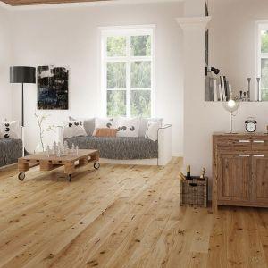 Podłoga drewniana Pure Vintage Dąb Lager dostępna w ofercie firmy Barlinek. Cena: ok. 220 zł/m2. Fot. Barlinek