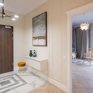 Wnętrze jest eleganckie, a jego przemyślana aranżacja daje wrażenie większej przestrzeni. Na zdj. Bouygues Immobilier Centreville Wrocław. Fot. Maciej Lulko