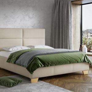 Styl japandi. Łóżko tapicerowane Mike marki Comforteo. Fot. Comforteo
