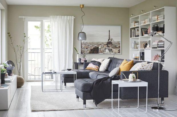 Sofa w małym salonie: 15 pięknych wnętrz. Zobacz dużo zdjęć