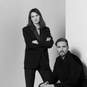 Michaela Tomiskowa i Jakub Jandourek, projektanci DECHEM. Fot. AQForm