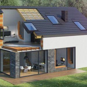 Koncepcja domu e4 firmy Wienerberger zakłada budowę nowoczesnego, ceramicznego domu niskoemisyjnego, który już teraz spełnia nowe wymagania. Fot. Wienerberger