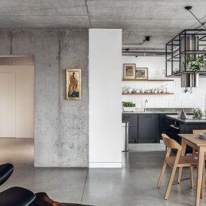 Kuchnia w loftowym stylu. Projekt wnętrza BLACKHAUS Karol Ciepliński Architekt. Zdjęcia Tom Kurek