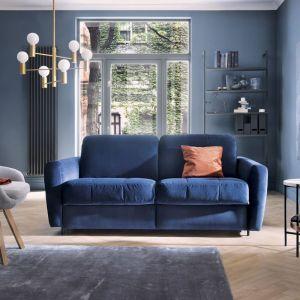 Sofa Olbia - zgrabna i niezwykle wygodna sofa wypoczynkowa, dostępna w trzech szerokościach. Jej główną zaletą jest możliwość wykorzystania mebla także do spania codziennego. Producent: Gala Collezione