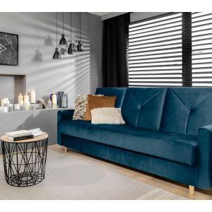 Sofa Zeja. Prosta forma oraz oryginalne detale. Producent: Black Red White