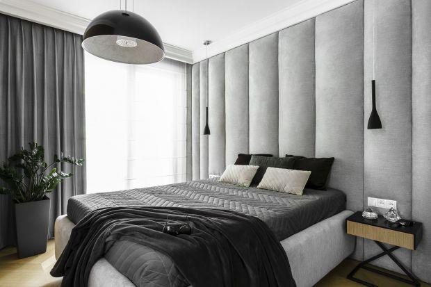 Modne tapicerowane ściany w sypialni. Świetne pomysły, fajne zdjęcia