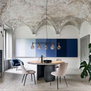 Nowa okrągła wersja stołu Mellow firmy Bartoli Design, której płynne linie wprowadzają luksusowy wygląd do każdego pomieszczenia. Fot. Bonaldo