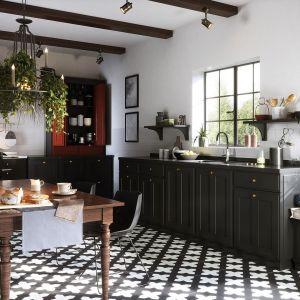 Bateria Zumba w czarnym kolorze doskonale wpisze się w aranżacje w stylu retro czy vintage. Fot. Ferro
