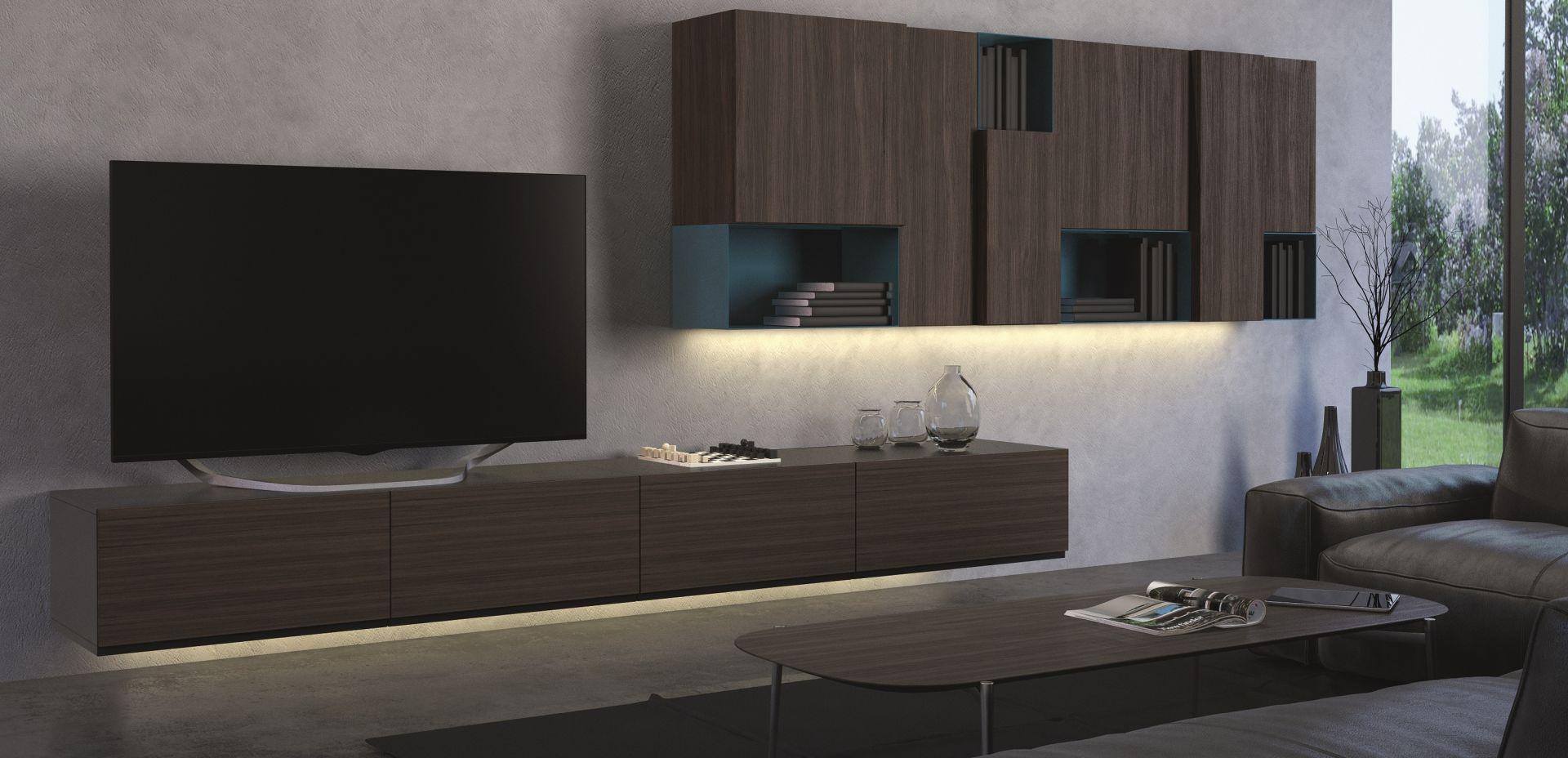 Häfele oferuje tutaj cały szereg rozwiązań dzięki swojej serii Loox. Produkty te łączą nowoczesne rozwiązania technologiczne z prostotą montażu i niezawodnością. Fot. Hafele Loox LED