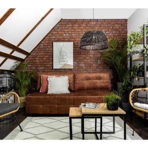 Sofa z kolekcji Zulia dostępna w ofercie Black Red White. Fot. Black Red White