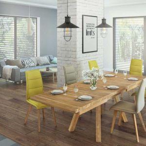 Stół Crudo, wykonany z litego drewna dębowego. Od 3839 zł, producent: Paged Meble