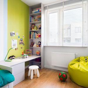 Kolorowy pokój dziecka. Projekt: Krystyna Dziewanowska, zdjęcia Mateusz Torbus/7TH IDEA