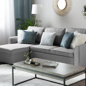 Sofa do salonu z kolekcji Nesna dostępne w ofercie firmy Beliani. Cena: 2.349 zł. Fot. Beliani