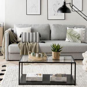 Sofa do salonu z kolekcji Eksjo dostępne w ofercie firmy Beliani. Cena: 2.429 zł. Fot. Beliani