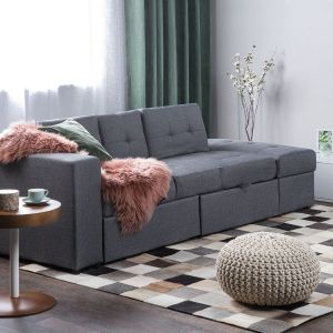 Sofa do salonu z kolekcji Falsten dostępne w ofercie firmy Beliani. Cena: 1.749 zł. Fot. Beliani