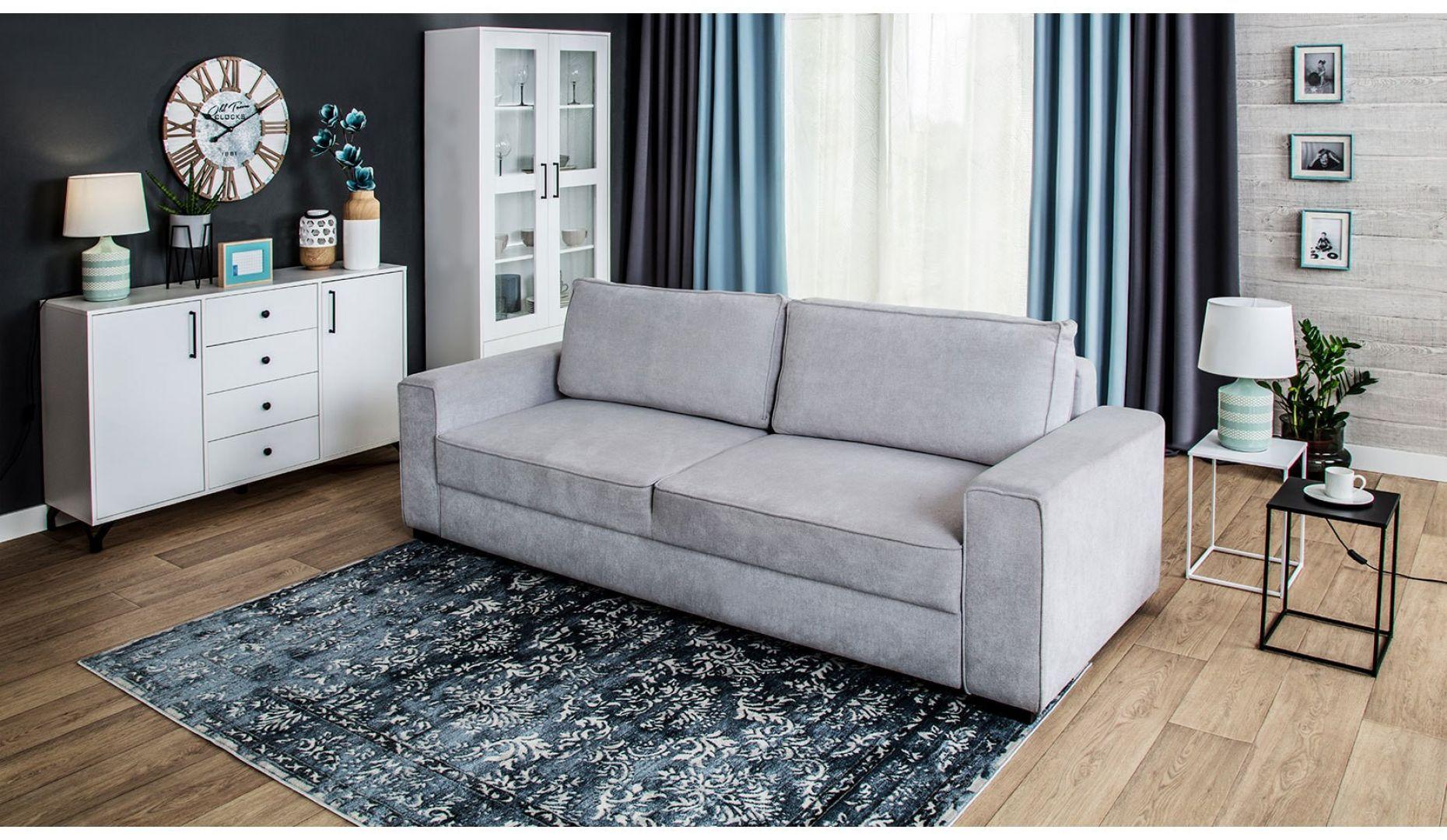 Sofa do salonu z kolekcji Vega dostępne w ofercie Salonów Agata. Cena: 2.150 zł. Fot. Salony Agata