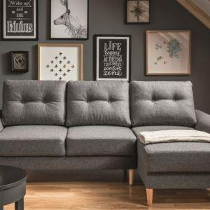 Sofa do salonu z kolekcji Cotta dostępna w ofercie firmy Vox. Fot. Vox Cena: od 4.360 zł. Fot. Vox