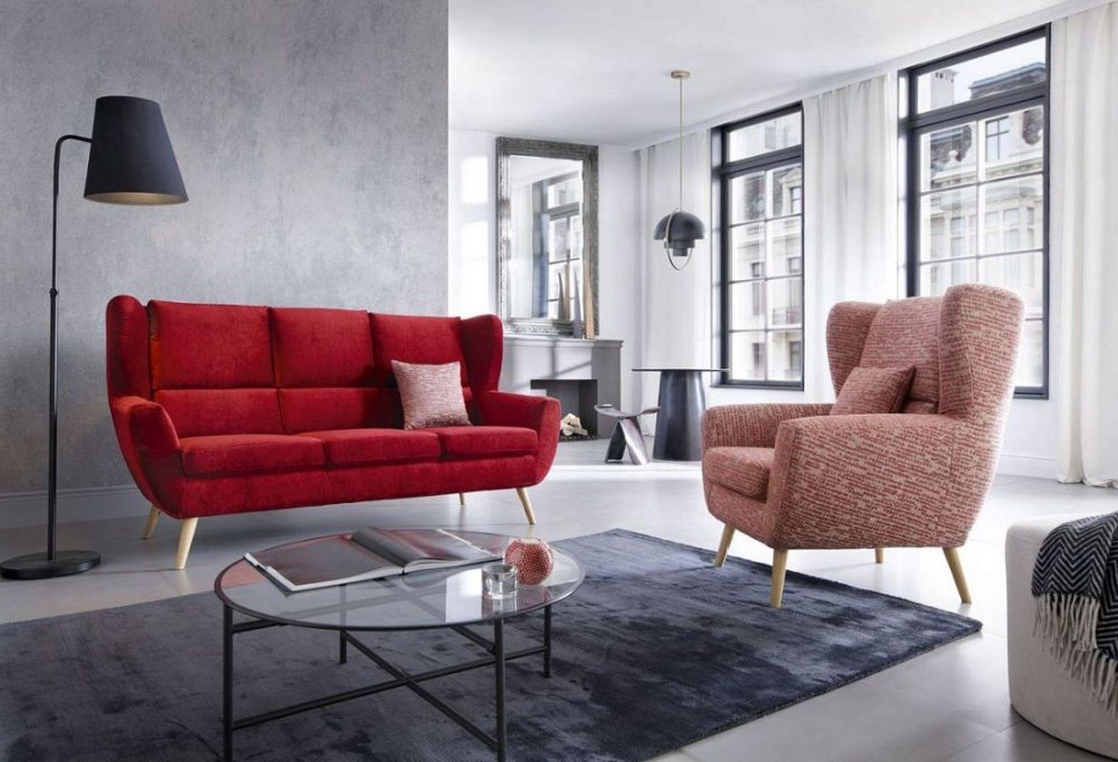 Trzyosobowa sofa Forli, charakterystyczne