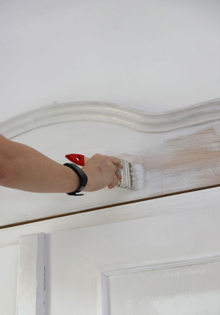 Odnowienie starej szafy. Zdjęcia i realizacja: Pani to Potrafi