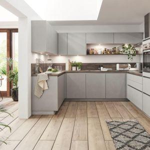 Meble do kuchni z kolekcji Cemento dostępne w ofercie firmy Nobilia. Fot. Nobilia