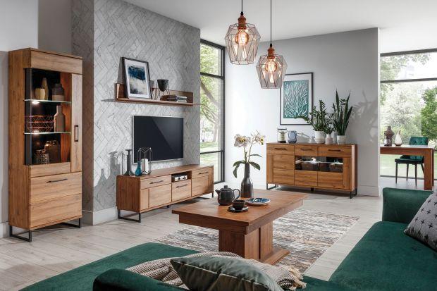 Elegancka kolekcja mebli do każdego salonu. Doskonale zaprezentuje się w przestronnym wnętrzu, jak i w tym mniejszym metrażu.