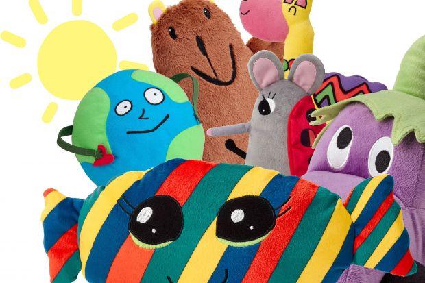 Lama, Cukierek, Niedźwiedź, Człowiek-Globus, Auto-Bakłażan i Myszka-Biedronka – to bohaterowie nowej kolekcji Sagoskatt od Ikea, którzy powstali w wyniku ubiegłorocznego konkursu rysunkowego.