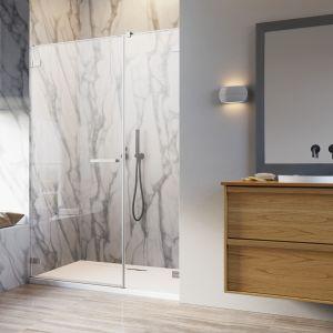 """Program """"Na miarę"""" pozwala stworzyć kabinę prysznicową o nietypowych wymiarach, pasującą do każdej sytuacji projektowej wnętrza. Fot. Radaway"""