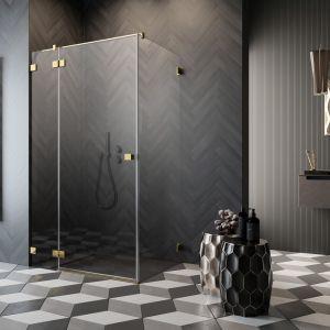 W ofercie Radaway klienci znajdą kabiny prysznicowe w czterech kolorach – chromie, bieli, czerni i złocie. Fot. Radaway