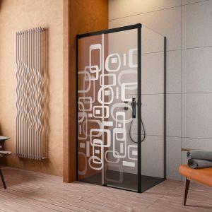 Radaway proponuje usługę laserowego grawerowania na szkle. Naniesiony na drzwi kabiny dowolny motyw sprawi, że model stanie się dodatkowo niezwykłą dekoracją łazienki. Fot. Radaway