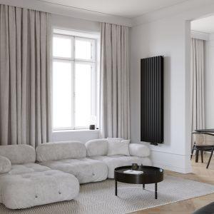 Zaletą jest przede wszystkim możliwość umieszczenia grzejnika nie tylko pod oknem, ale w dowolnym miejscu na ścianie jak w przypadku modelu Fortuna. Fot. Luxrad