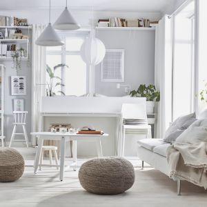 Zwłaszcza teraz, kiedy więcej czasu spędzamy w naszych mieszkaniach, zadbajmy o dopasowanie przestrzeni do naszych potrzeb. Fot. IKEA