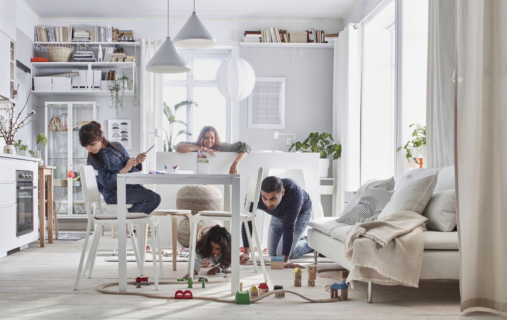 Dom to miejsce, które może łączyć wszystkie życiowe aktywności! Fot. IKEA