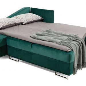 Powierzchnia spania wynosi 140 x 200 cm.