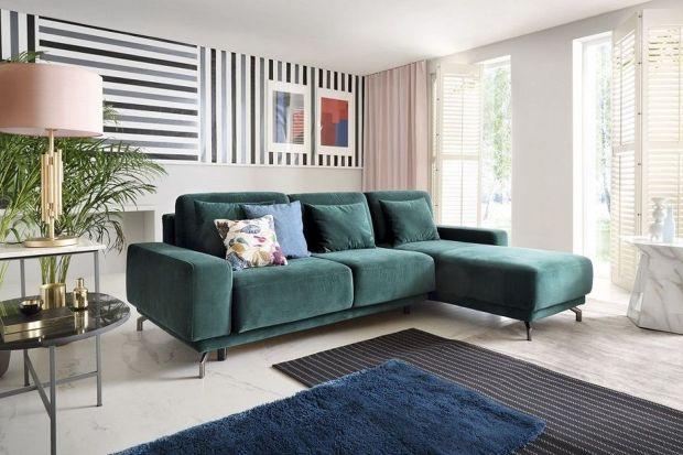 Kanapa w salonie: 10 pięknych kolorowych narożników, zobacz je!
