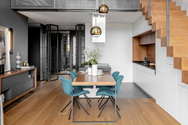 Apartament w stylu loft: piękny projekt z Warszawy