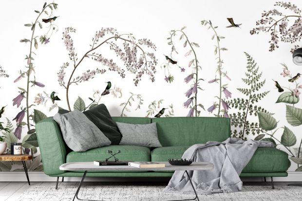 Ściana w salonie: 12 najpiękniejszych tapet. Zobacz je wszystkie!