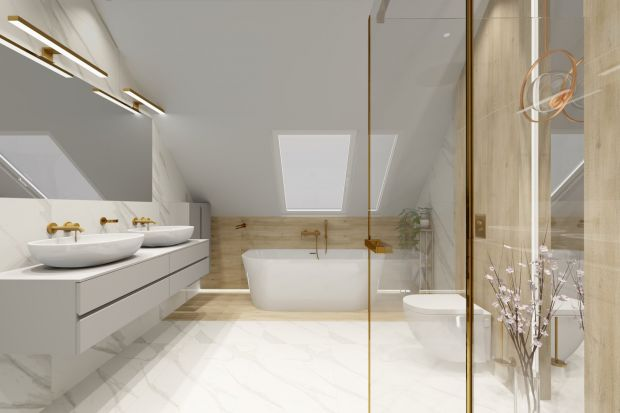 Nowocześnie i stylowo, czy może z mocnym akcentem. Zobaczcie pomysły architektów na urządzenie łazienki.