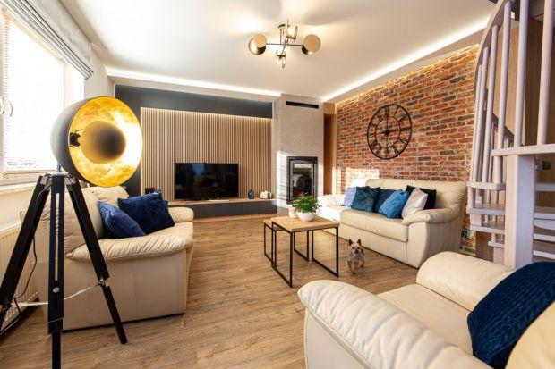 Nowoczesny salon: podłogi i ściany. 10 pięknych wnętrz