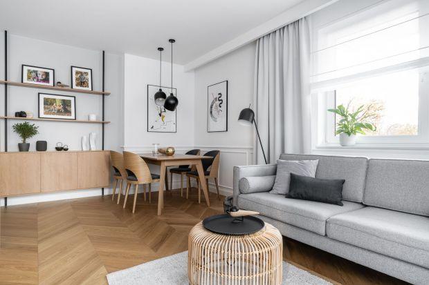 Mieszkanie o powierzchni 66 m2 zaprojektowały architektki wnętrz, Anna Maria Sokołowska i Katarzyna Nowak z pracowniAnna Maria Sokołowska Architektura Wnętrz. Nowoczesne wnętrze powstało dla rodziców z dwójką dzieci. Zobaczcie ten ciekawy proj