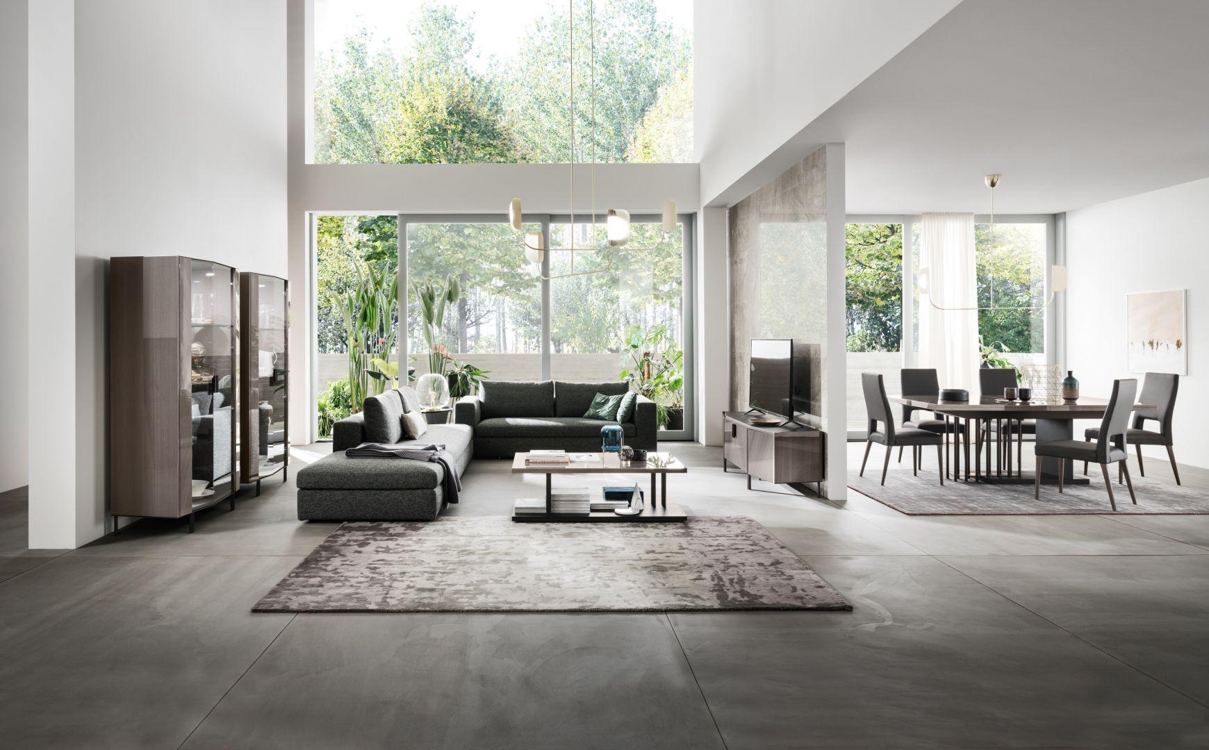 Zaprojektowana z myślą o kompleksowym wyposażeniu wnętrz dedykowana jest do salonu, jadalni i sypialni.Fot. Kolekcja Olimpia Masterpiece marki Kler
