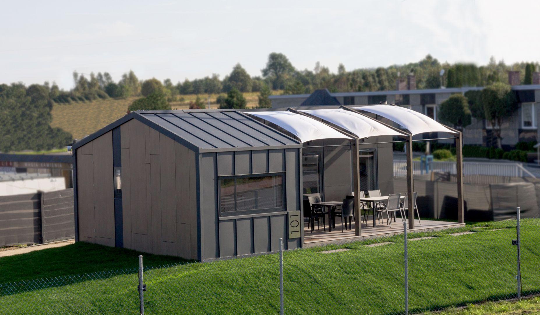 Domy są dostarczane w wybrane przez inwestora miejsce. Fot. Natura Home