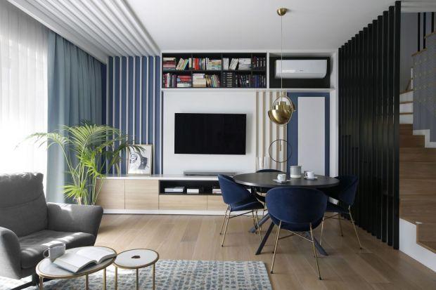 Ściana za telewizorem w salonie: 12 fajnych pomysłów. Piękne zdjęcia!