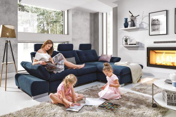 Narożnik to doskonały wybór do każdego salonu. Jeśli zdecydujecie na opcję w kolorze to stanie się on prawdziwą ozdobą wnętrza.